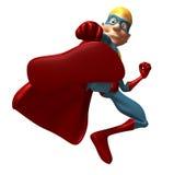 Blond superhero Royalty Free Stock Image