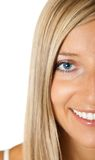 Blond Tan Woman Portrait
