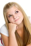 Blond Teen Girl Stock Photography