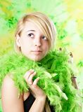 Blond teen girl Royalty Free Stock Photos