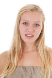 Blond teen girl Royalty Free Stock Image
