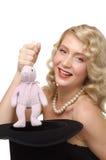 blond trollkarl Fotografering för Bildbyråer