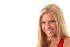blond uśmiecha się Zdjęcia Royalty Free