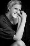 Blond und Lächeln Stockfotografie