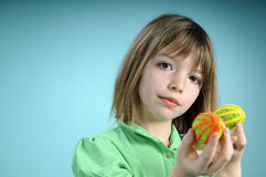 blond uppvisning för barneaster prydnadar Royaltyfri Bild