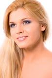 blond woman Στοκ Φωτογραφίες