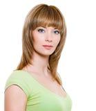 Blond woman Stock Image