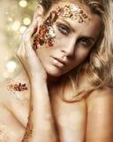 Blond woman Stock Photo