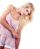 Blond woman Royalty Free Stock Images