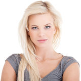 Blond woman Stock Images