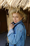 blond woman Στοκ Εικόνες