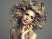 Blond woman Royalty Free Stock Image