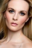 Blond Woman Portrait Stock Photography