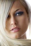 Blond woman portrait Stock Image
