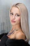 Blond woman portrait Royalty Free Stock Photos