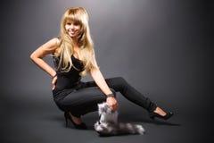 blond woman young Στοκ εικόνες με δικαίωμα ελεύθερης χρήσης