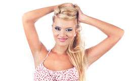 Blond women Royalty Free Stock Photo