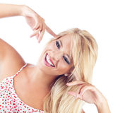 Blond women Stock Image