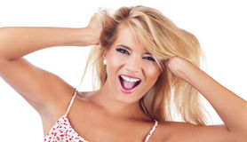 Blond women Royalty Free Stock Photos