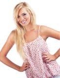 Blond women Stock Photography