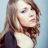 Blond Young lady Royalty Free Stock Images