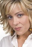 blonda facees Royaltyfria Bilder