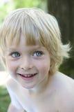 blonda gammala le år för pojke fyra Fotografering för Bildbyråer