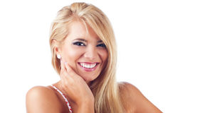 blonda kvinnor Royaltyfri Fotografi