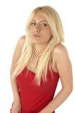 blondasie rozważne zdjęcie stock