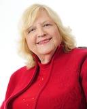 Blonde ältere Frau Lizenzfreie Stockfotografie