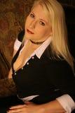 Blonde 3 do negócio imagens de stock