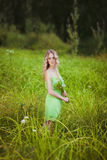 Blonde Royalty-vrije Stock Fotografie