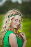 Blonde Stock Foto's