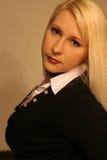 Blonde 5 do negócio Imagem de Stock Royalty Free