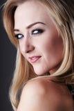 Blonde adult woman Stock Photos