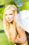 Blonde Angel Stock Photo