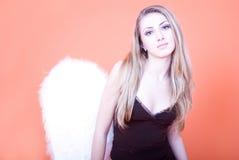 Blonde angel Stock Photos