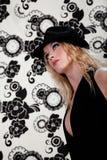 Blonde Art und Weise Lizenzfreie Stockfotos
