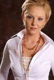 Blonde Art und Weise CP1 Lizenzfreies Stockfoto