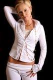 Blonde Art und Weise cp2 Lizenzfreies Stockbild