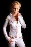 Blonde Art und Weise cp4 Lizenzfreie Stockfotos