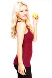 Blonde atractivo Imágenes de archivo libres de regalías