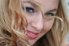 Blonde atractivo Imagenes de archivo