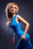 Blonde atractivo hermoso Imágenes de archivo libres de regalías