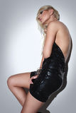 Blonde, attractive fashion girl 2 Royalty Free Stock Photography
