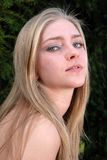 Blonde attraente Immagini Stock Libere da Diritti