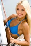 Blonde attraente Immagine Stock Libera da Diritti