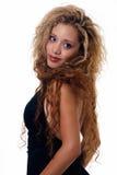 Blonde aux cheveux longs Photos stock