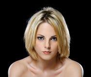 Blonde babe stock afbeelding