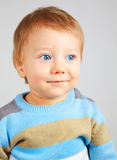 Blonde baby boy Stock Photography